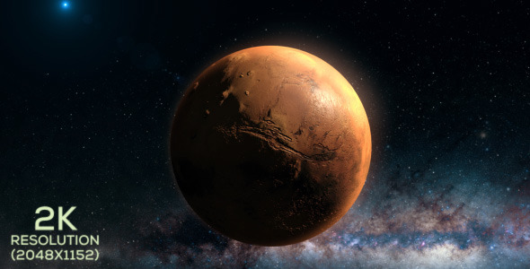 VideoHive Mars Approach 2 9664443