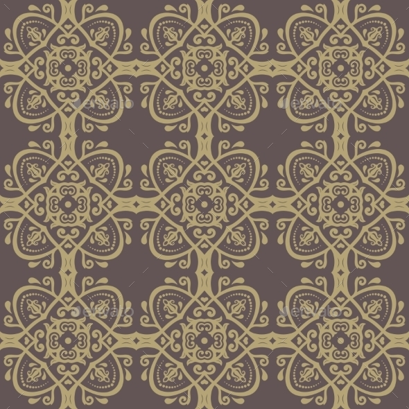 GraphicRiver Orient Seamless Abstract Pattern 9664492
