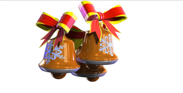 VideoHive Christmas Bells Rotate 9630916