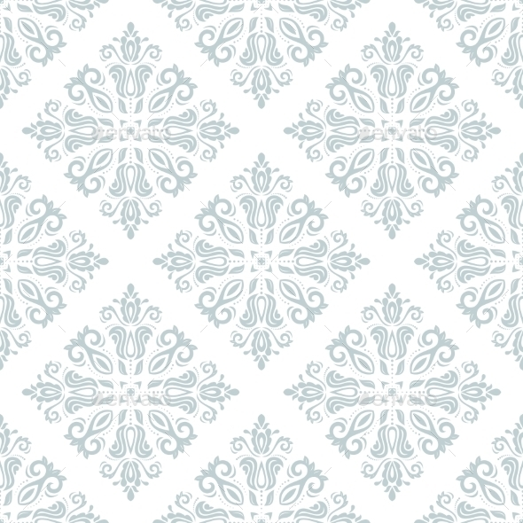 GraphicRiver Damask Seamless Vector Pattern 9664743