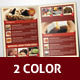 Restaurant Foods Menu Brochure Template - GraphicRiver Item for Sale