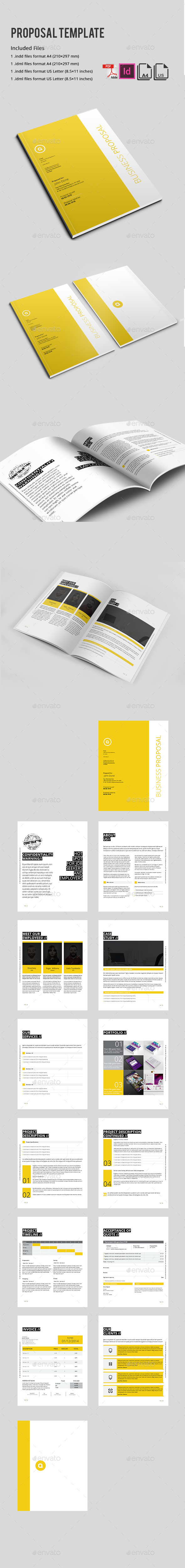 GraphicRiver Proposal Template 9666148