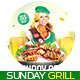 Sunday Grill Flyer