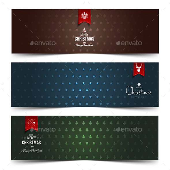 GraphicRiver Christmas Banner 9667259