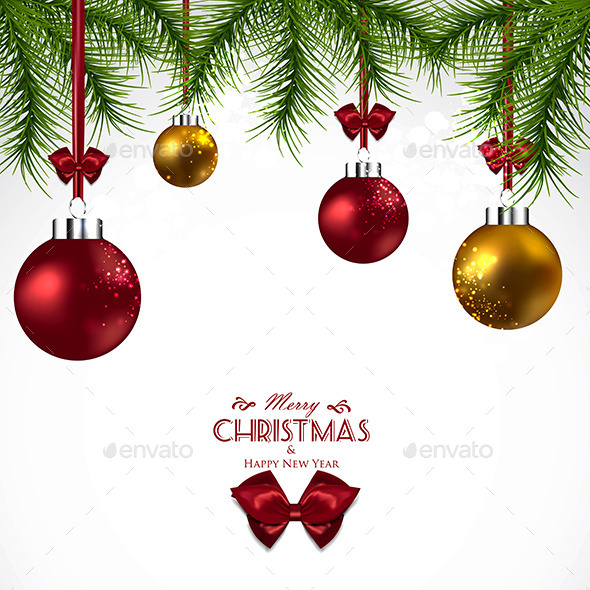 GraphicRiver Christmas Background 9667282