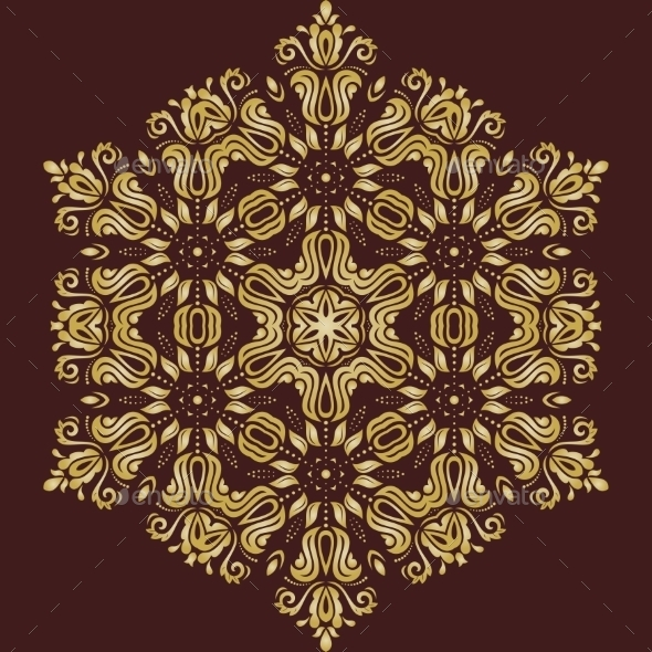 GraphicRiver Orient Vector Pattern 9667317