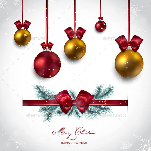 GraphicRiver Christmas Background 9667404