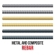 Reinforcement Steel and Composite. - GraphicRiver Item for Sale