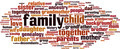 Family Word Cloud Concept - PhotoDune Item for Sale
