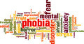 Phobia Word Cloud Concept - PhotoDune Item for Sale