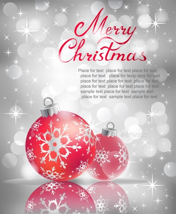 GraphicRiver Christmas Background 9668347
