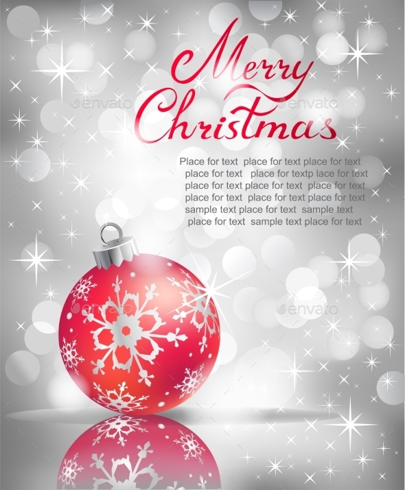 GraphicRiver Christmas Background 9668474