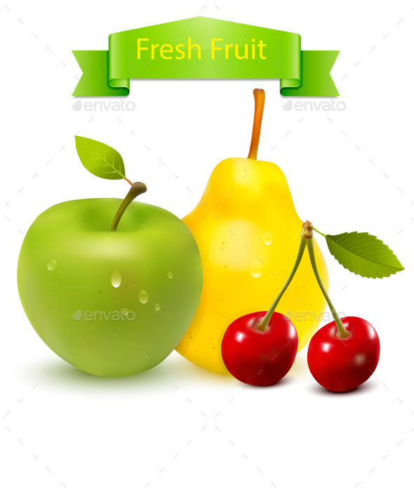 GraphicRiver Fresh Fruit 9668518