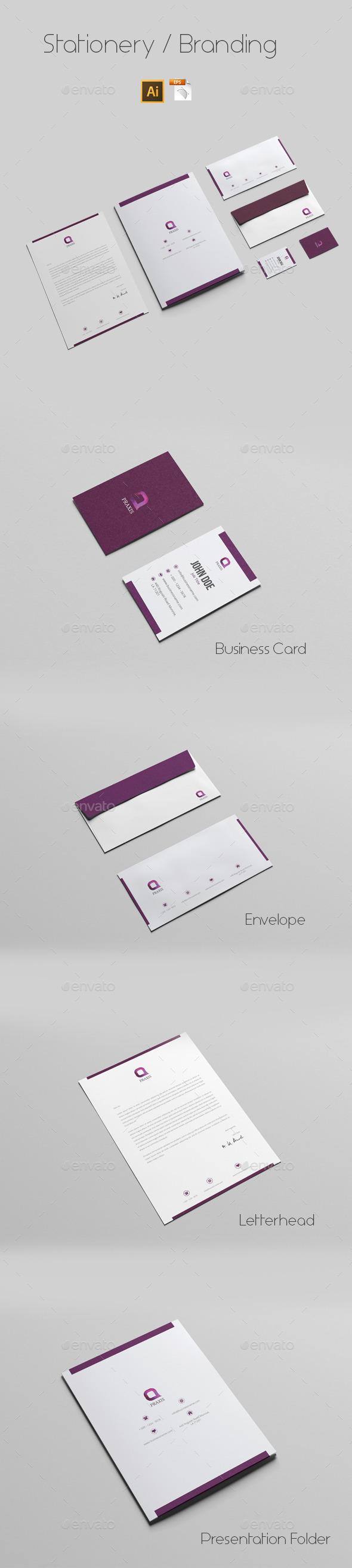 GraphicRiver Stationery Branding 9668804