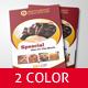 Restaurant Brochure Foods Menu - GraphicRiver Item for Sale