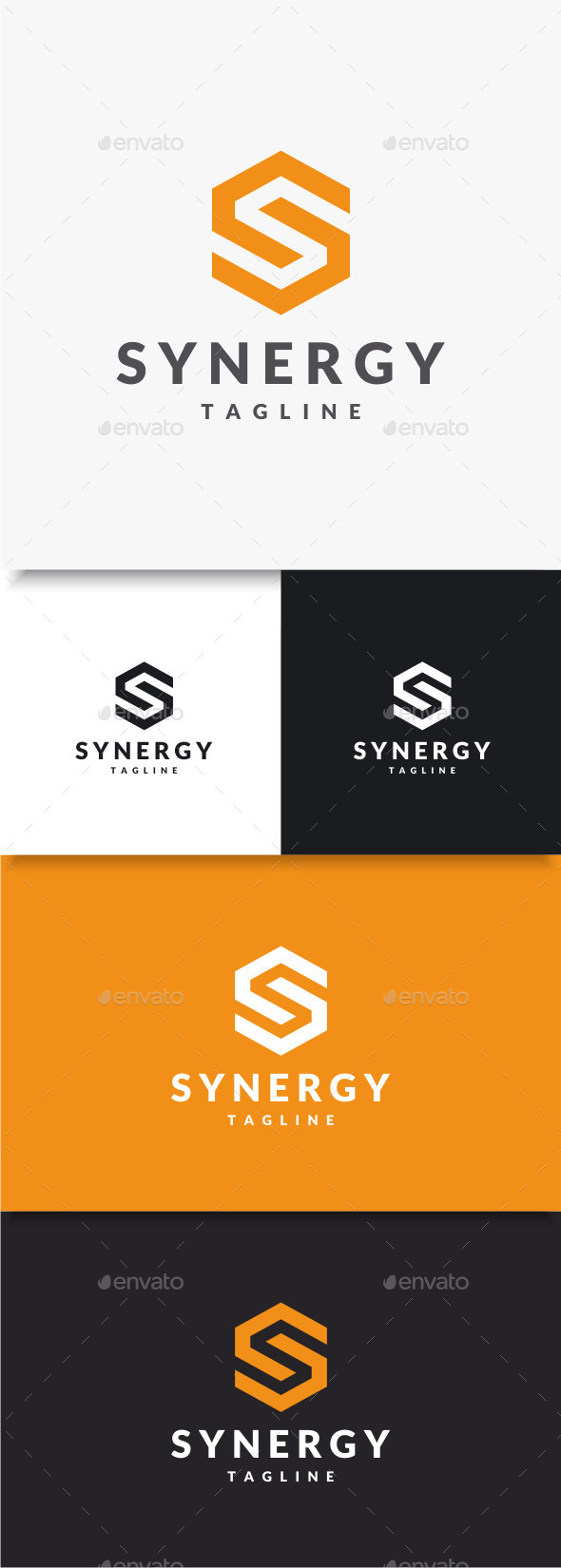 GraphicRiver Synergy Logo 9668951