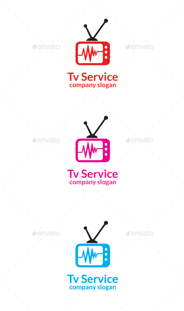GraphicRiver Tv Service 9669093