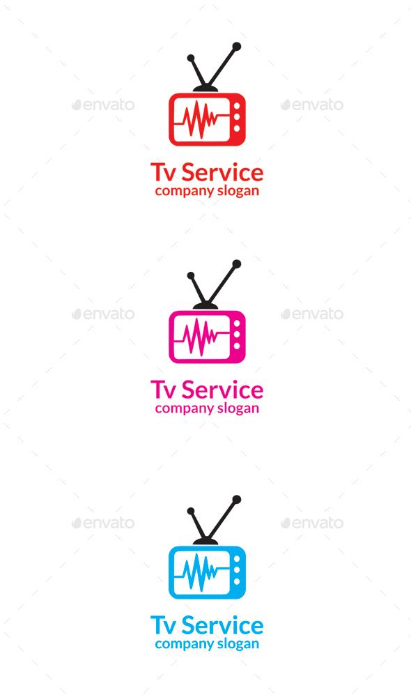 GraphicRiver Tv Service 9669093