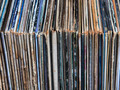 stack of vinyl records in envelopes - PhotoDune Item for Sale