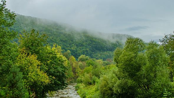 Carpathian Mountains Autumn
