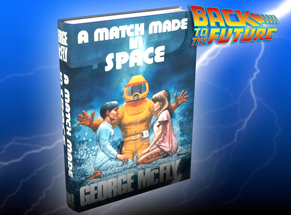 Georges Mc Fly Sci-Fi Novel Book