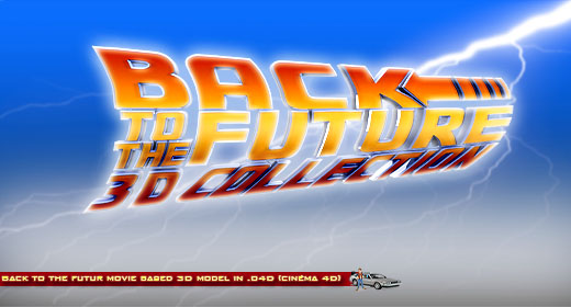 BTTF 3D collection