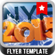 NYE Flyer Template v.03 - GraphicRiver Item for Sale