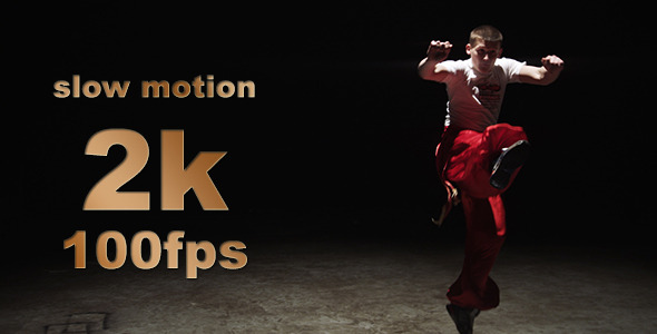VideoHive Cossack Artistic War Dance Slow Motion 06 9670444