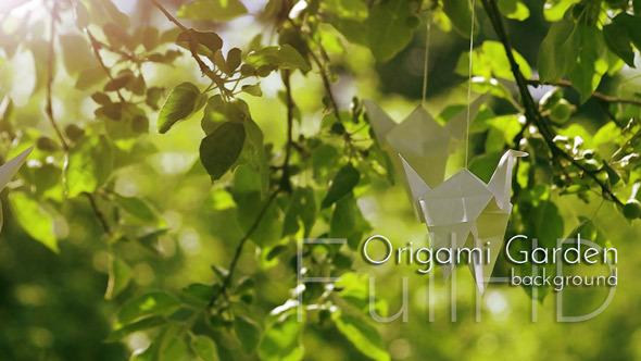 VideoHive Origami Garden 9670471