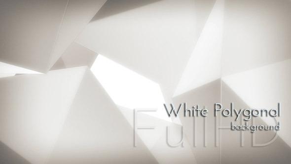VideoHive Motion White Polygon 9670561