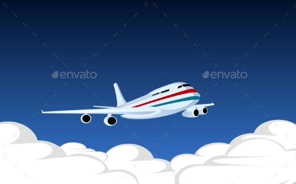 GraphicRiver Image with Plane 9670584
