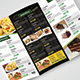 Caribbean Tri Fold Food Menu - GraphicRiver Item for Sale