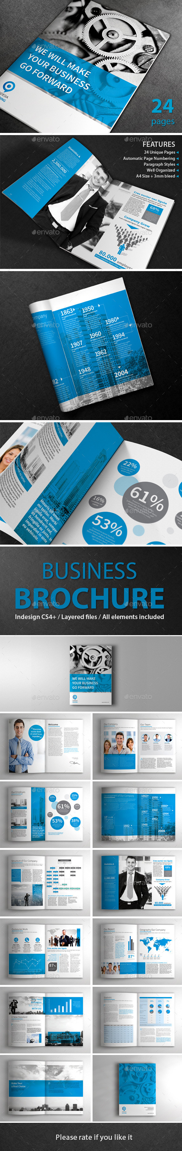 GraphicRiver Business Template Brochure 9611424