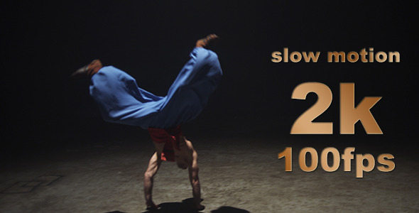 VideoHive Cossack Artistic War Dance Slow Motion 07 9670626