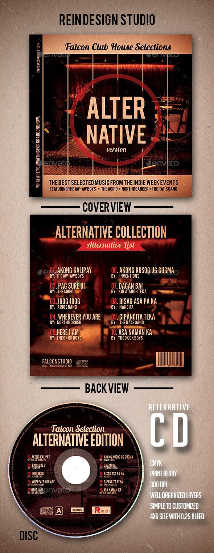 GraphicRiver Alternative CD Artwork 9670630