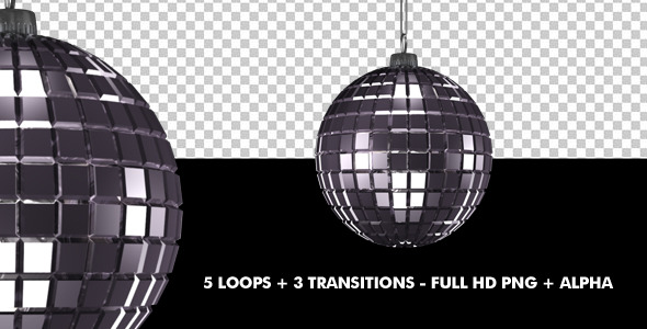 VideoHive Mirror Ball Pack of 8 9670738