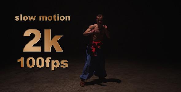 VideoHive Cossack Artistic War Dance Slow Motion 10 9670763