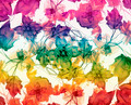 Multicolored Floral Swirls Decorative Background - PhotoDune Item for Sale