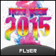Colorful New Year Flyer Template - GraphicRiver Item for Sale