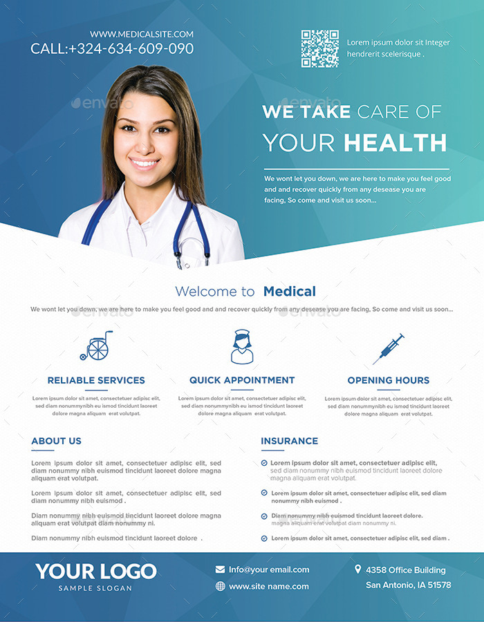 Medical Flyers Templates By Hazemtawfik GraphicRiver