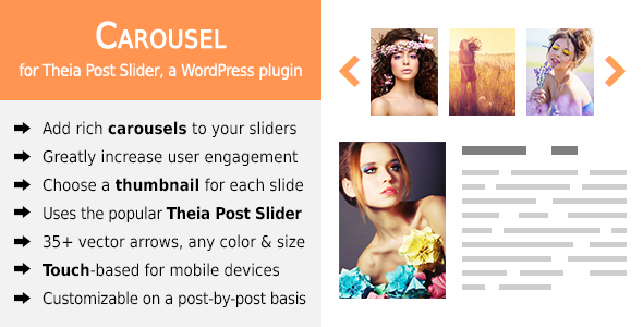 CodeCanyon Carousel for Theia Post Slider 9671484