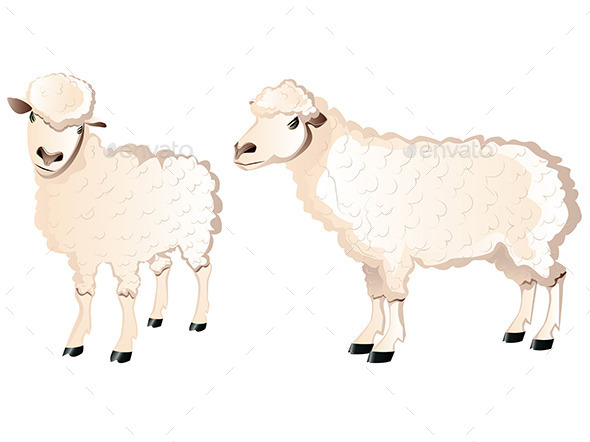 GraphicRiver Sheep Character 9671583