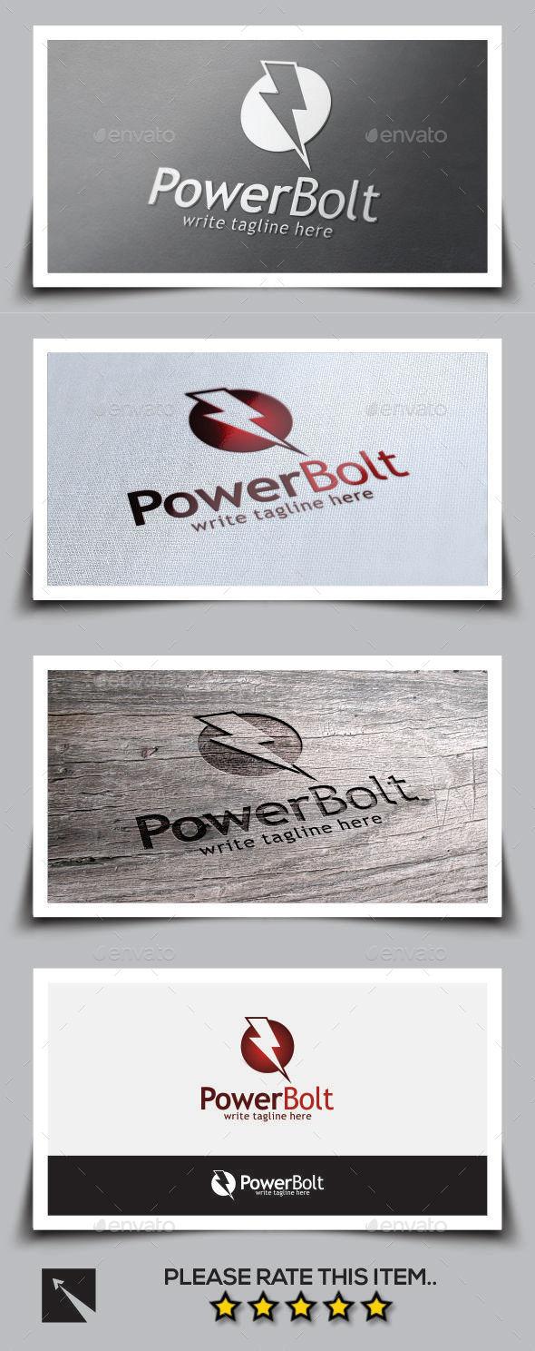 GraphicRiver Power Bolt Logo Template 9672005