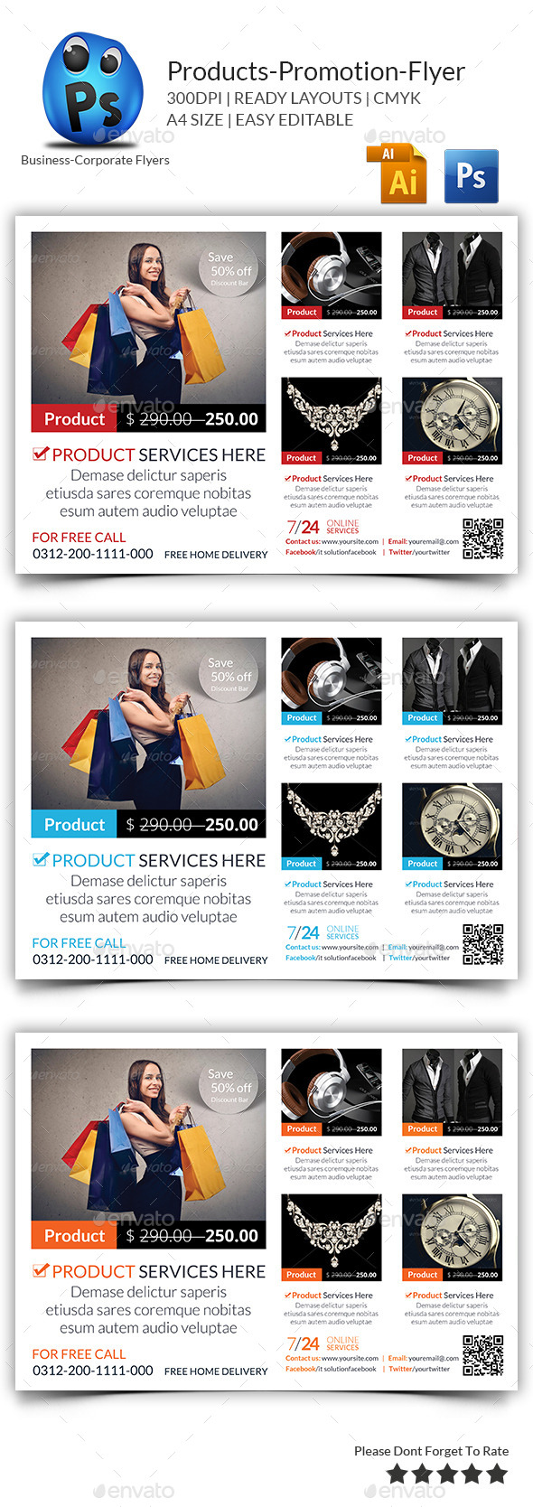 GraphicRiver Products Flyers Print Templates 9672018
