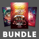 Christmas Flyer Bundle Vol.02 - GraphicRiver Item for Sale