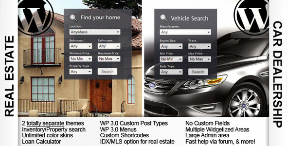 Openhouse Real Estate & Automotiv car dealership - ThemeForest Item for Sale