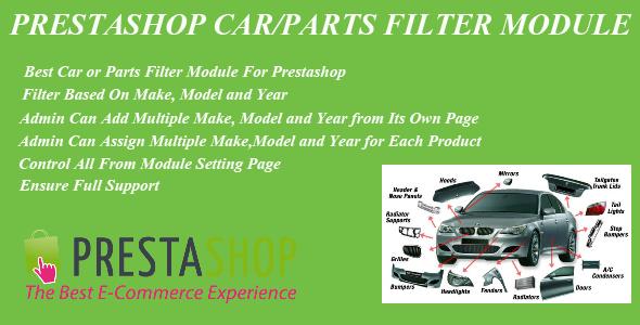 Prestashop Car Parts Filter Plugin