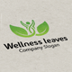 Wellness Leaves Logo - GraphicRiver Item for Sale
