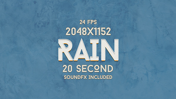 VideoHive Real Rain 9672988