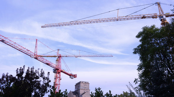 VideoHive Tower Crane 9673292